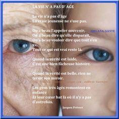 La vie n'a pas d'âge, Jacques Prévert