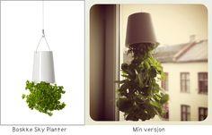 DIYPIG: DIY - Lag din egen Opp-ned-blomsterpotte / Make yo...