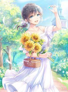 Pin de toy en animestuffs anime, kawaii anime girl y beautif Pretty Anime Girl, Beautiful Anime Girl, Kawaii Anime Girl, Anime Art Girl, I Love Anime, Anime Girls, Anime Girl Crying, Anime Girl Dress, Anime Chibi