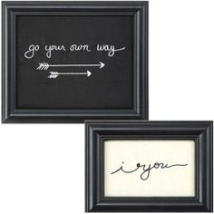 Framed Fabric Wall Decor