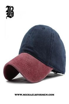 8ad85737dd1 FLB Washed Denim Autumn Summer Baseball Golf Cap in Different Color  Options. Mens Dress Hats ...