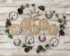 For a fun Christmas tradition, start crafting your own Christmas ornaments with the family!