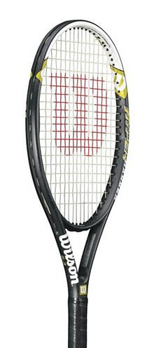 Wilson Hyper Hammer Strung Tennis Racket (Black/White, 4 They Hyper Hammer has an oversize frame that delivers explosive power for the recreational adult tennis player. Pattern Balance 11 pts HH (Strung) Cross Section 27 mm DUAL TAPER. Best Badminton Racket, Best Tennis Rackets, Wilson Tennis Racquets, Head Tennis, Tennis World, Home Sport, Tennis Tips, Tennis Players, Amazing Women