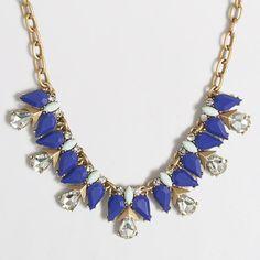 J.Crew Factory - Factory teardrop clusters necklace