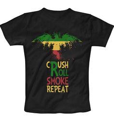 CRUSH ROLL SMOKE REPEAT Vol 2 T-Shirt