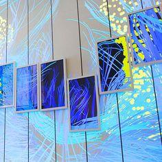 AV&C — The Brain Index – Columbia University Zuckerman Institute Interactive Media, Interactive Design, Digital Wall, Digital Signage, Office Wall Design, Architectural Scale, Donor Wall, Landscape Lighting Design, Interactive Installation