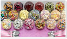 Sweet Buffets. Design your own sweet buffet. And wholesale sweets