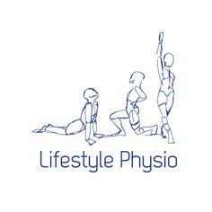 Lifestyle Physio Logo, Melbourne   #logodesign #physiotherapist #design #art #marketing