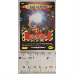 2007 Doctor Who Battles in Time card no. 484 Stasis Chamber on eBid United Kingdom