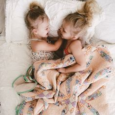 Sweet sisters ❤️, best little friends sharing secrets