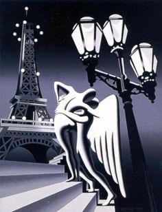 Always Having Paris Painting by contemporary American artist Mark Kostabi, now living in Italy. Mark Kostabi, Paris Painting, Angel Art, Figure Painting, American Artists, Album Covers, Pop Art, Abstract Art, Drawings