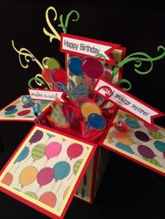 Splitcoaststampers FOOGallery - Happy Birthday!