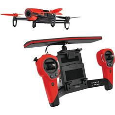 Parrot Bebop.Drone and Skycontroller Bundle - Red
