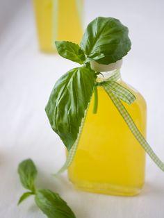 Orangen-Zitronen-Basilikum-Sirup