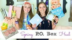 PO Box Haul  #brooklynandbailey #poboxhaul #youtube #video #mailbox