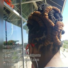 #TwistedGenius #locstyles #chicago #memphis #atlanta Suitegenius@gmail.com to book