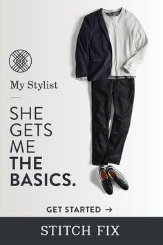 Your Stitch Fix Stylist learns your likes and picks pieces that work perfectly with your fit and budget. From everyday basics to style game-changers—get them delivered right to your doorstep. Free shipping & returns. Schedule a Fix today.