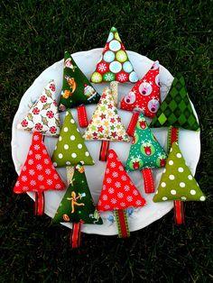Veselé stromčeky, ... vianočná ozdoba
