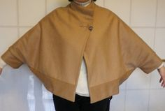 Another cape (cape-jacket)  for a cold winter day