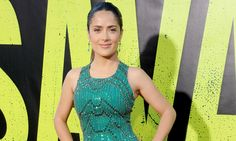 The Secret to Salma Hayek's Sexy Curves and Skin