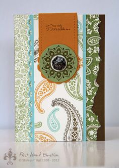 Stampin' UP! Spiced Paisley Herbstnostalgie by First Hand Emotion