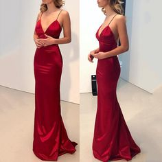 SPECIFICATIONS: Product Name Sexy Red Plain Sleeveless Evening Dress Brand Fashionfacy Color Red SKU Gender Women Style Elegant/Sexy/Fashion Type Evening Dress Occasion Party/Vacation/Daily Life Material Polyester fiber Sleeve Sleeveless Product No. Backless Prom Dresses, Mermaid Prom Dresses, Bridesmaid Dresses, Prom Gowns, Dress Prom, Plain Prom Dresses, Elegant Dresses, Sexy Dresses, Formal Dresses