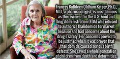 Frances Kathleen Oldhan Kelsey, Ph.D., M.D.