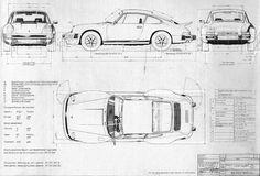 Image result for 911 991 blueprint