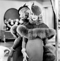 1934 Bette Davis- stunning 1930s 30s fashion Oh, the elegance...she reminds me of Gwen Steffano!
