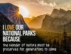 20 reasons to love our national parks. What's yours? Tell us and you could win a Grand Canyon rafting trip: http://www.oars.com/blog/20-reasons-love-national-parks/