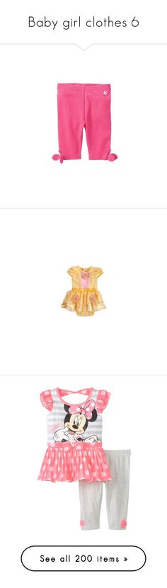 """Baby girl clothes 6"" by shannongarwood ❤ liked on Polyvore featuring baby, baby girl clothes, kid's, kids clothes, baby clothes, kids, baby things, baby girl, baby stuff and babies."