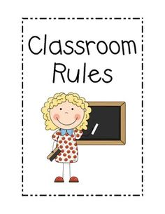 This is a free set of rules for the classroom.  ***Updated 6/23/13 - I have updated this rules set to include more diverse students as well as a cover for those wanting to turn the posters into a book.    Enjoy! :)