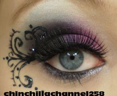 eye makeup | CookingChinchillas: New years eve eye make up