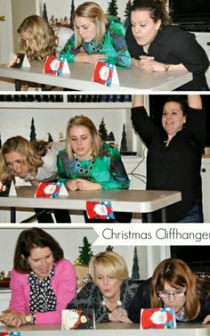 Christmas Cliffhanger game