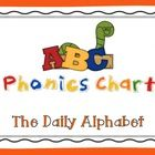 Freebie! This ABC Phonics chart is great for students who are learning about the sounds that each letter makes. This can be used as a whole class review, intervention activity, and can also be sent home for additional practice.