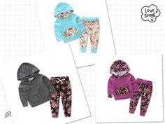 Baby Floral Hoodie & Pant Set
