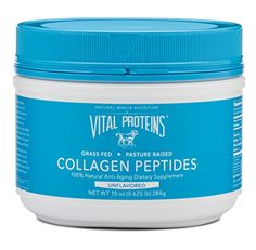 Vital Proteins Pasture-Raised Collagen Peptides, All Natural Anti-Aging Drink Powder Dietary Supplement Vital Proteins Collagen Peptides, Collagen Protein, Collagen Food, Pure Protein, Organic Protein, Beef Gelatin, Magnesium Oil, Collagen Powder, Thing 1