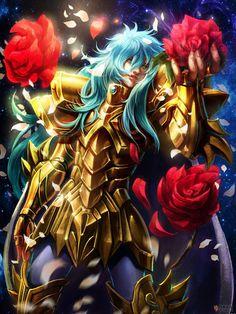 Aphrodite of Pisces Film Anime, Manga Anime, Anime Magi, Anime Boys, Aphrodite, Fantasy Characters, Anime Characters, Anime Saint, Knights Of The Zodiac