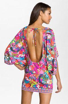 #Nordstromweddings  #honeymoon... Trina Turk 'Fiji Flower' Tunic Cover-Up | Nordstrom