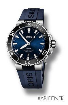 Der Schweizer Uhrenhersteller Oris stellt die Oris Aquis Date vor, eine Neuinterpretation seiner hochfunktionellen Taucheruhr.