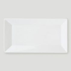 One of my favorite discoveries at WorldMarket.com: White Rimmed Rectangular Platter, Small