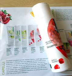 naturaline - conad - shampoo biologico melograno e carciofo (controllare..)