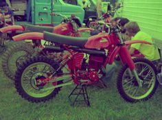 1977- Honda RC500 works bike