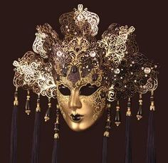 venetian headdress | ... pieces of thoughts: The masquerade - Venetian carnival and masks