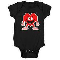 hppy pxl hrt drk bodysuit/onesie > $18.99US > babybitbyte (cafepress.com/babybitbyte) #babybitbyte #cafepress #valentine #valentines #happyvalentines #heart #hearts #pixel #pixels #nerd #geek #nerdylove #geekylove #gamer #gamers #retro #pixelart #happy #cute #onesie #bodysuit #infant #infantclothes #pxl