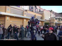 Optimus Prime walking around!!!
