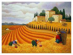 Lowell Herrero Village Harvest