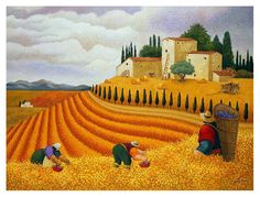 Lowell Herrero Village Harvest