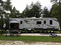 2011 Keystone Hornet in Louisa, KY. Same as new, Keystone Hornet camper 31ft. Only been out 5 times, has outdoor kitchen, surround sound, 2 slide outs, two bedroom-sleeps eight, electric awning, and includes flat screen TVs. - See more at: http://www.rvregistry.com/used-rv/1001550.htm#sthash.hySIKJf8.dpuf