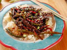 Teriyaki Beef Stir-Fry Recipe | Ree Drummond | Food Network